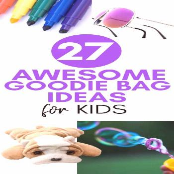 27 Unique Goodie Bag Ideas For Birthday Parties unique goodie bag ideas for birthday parties! I LOV