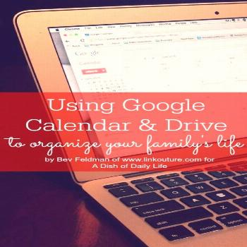 Use Google Calendar and Google Drive to Organize Your Life - A Dish of Daily Life