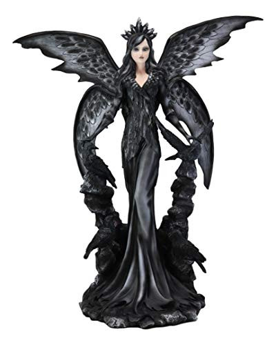 Ebros Large Gothic Raven Fey Fairy Queen Maleficent with